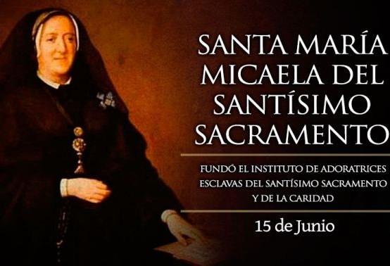 Día de Santa María Micaela