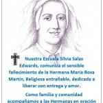 DESPEDIDA HNA. MARÍA ROSA MARTÍN