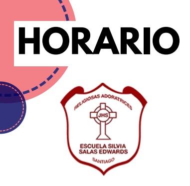 HORARIOS Y LINKS DE CONEXIÓN